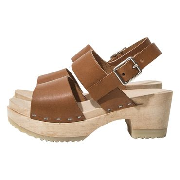 Kid's Clog Sandal, Honey