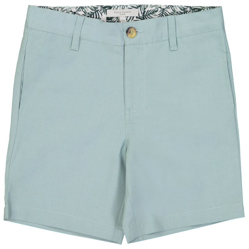 Jeannot Shorts, Lime Tree