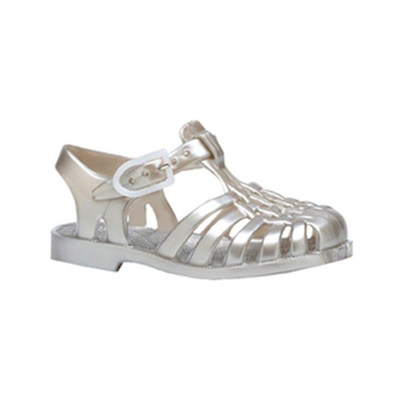 Silver Meduses Sandals