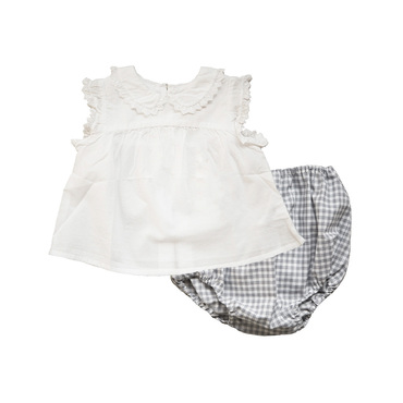 Dole Blouse and Bloomer Set
