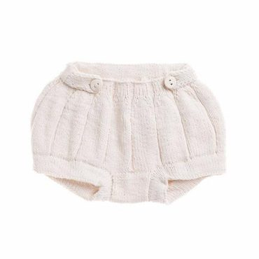 Pleated Bloomers, Natural