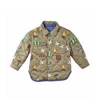 Baby Hunter Reversible Explorer Shirt, Khaki