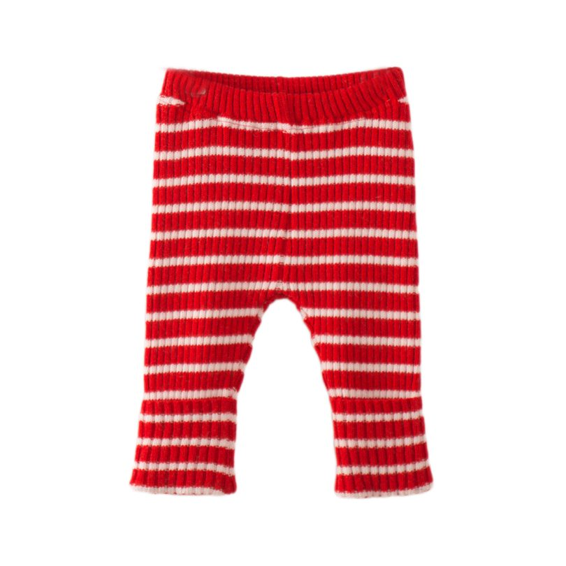 8599de6d1 Bobo Choses Baby Knitted Legging, Red Stripes