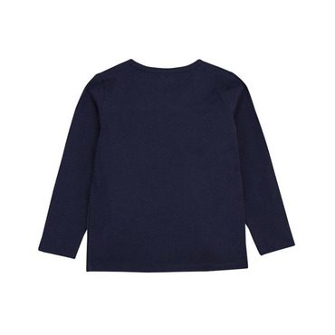 Grandpa Long Sleeve Shirt, Navy