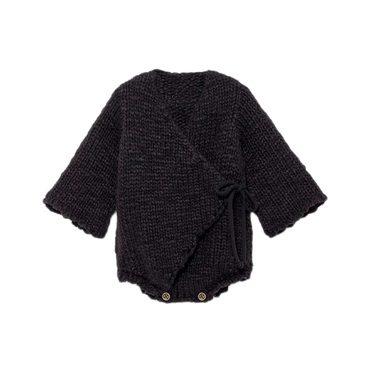 Baby Sam's Chunky Knit Body, Black