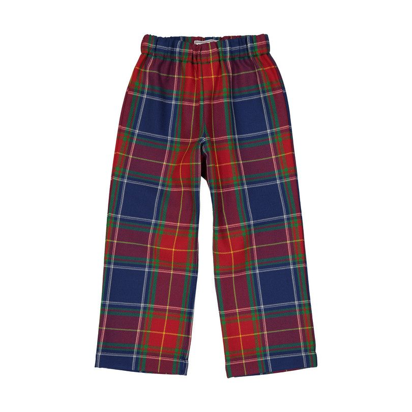 Slim Myles Plaid Pant, Scottish Tartan