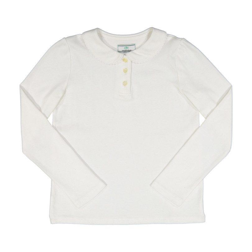 Sarah Polo Shirt, Bright White