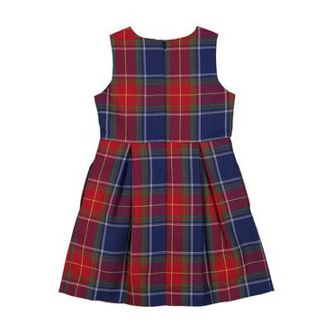 New Arden Plaid Dress, Scottish Tartan