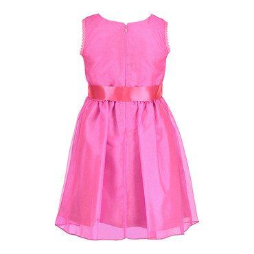 Organza Dress, Pink Twinkle
