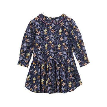 Gabriella Dress, Black Forest