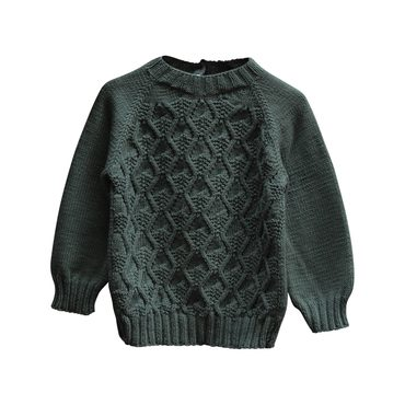 Handknit River Sweater, Naja