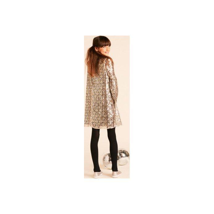 Sequin Hannah Dress, Silver