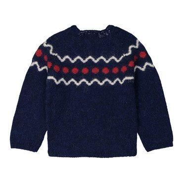 Marmotte Sweater, Blue