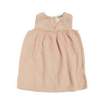 Gauze Dress, Desert Pink