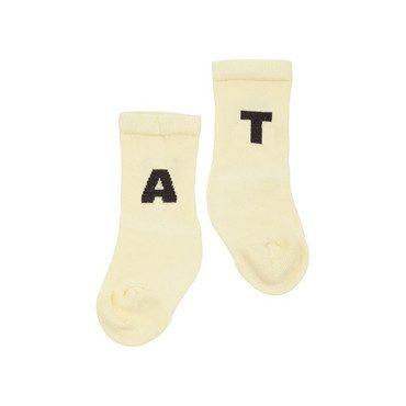Baby Worm Socks, Yellow