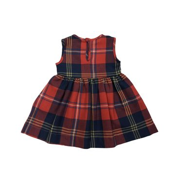 Pinny Dress, Harvest Plaid