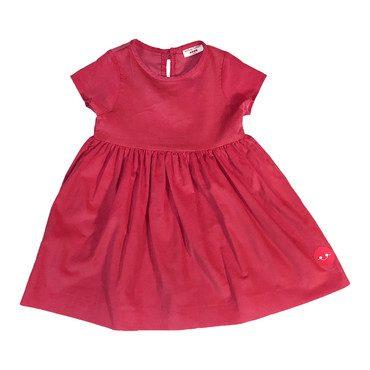 Sunday Dress, Hot Pink Corduroy