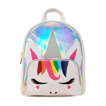 Groovy Gwen Mini Backpack. White