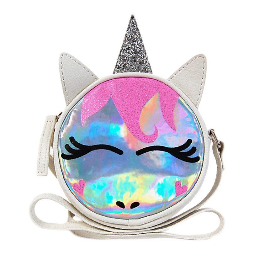 858bf8301 Hologram Unicorn Crossbody - Bags - Maisonette
