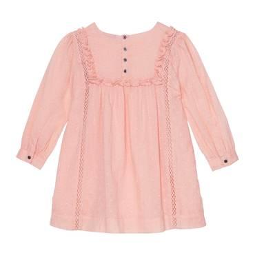 Lizzie Dress, Porcelain Pink Dobby