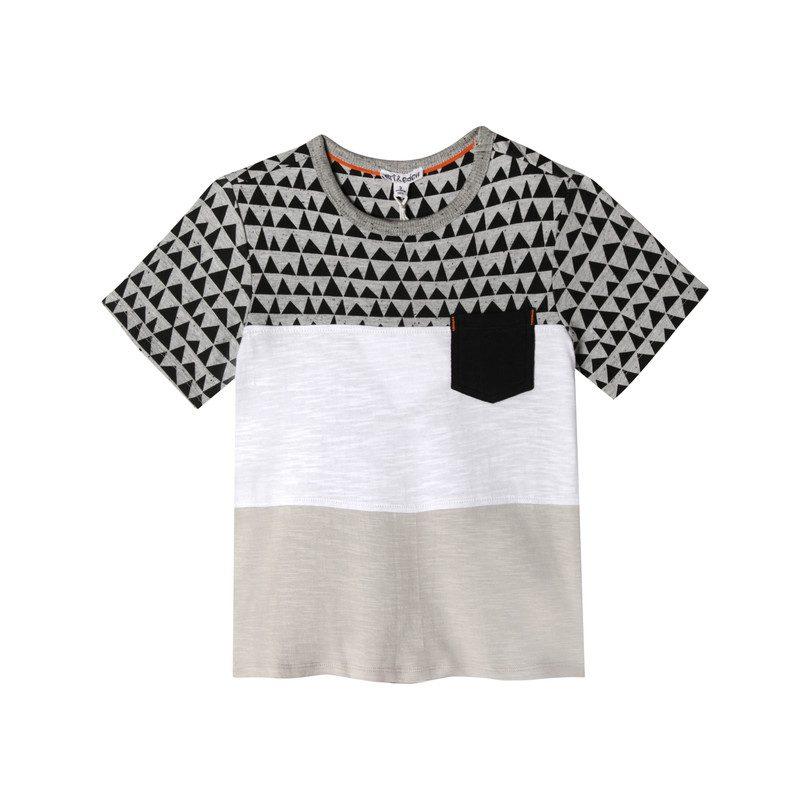 Jayden T-Shirt, Triangle Print