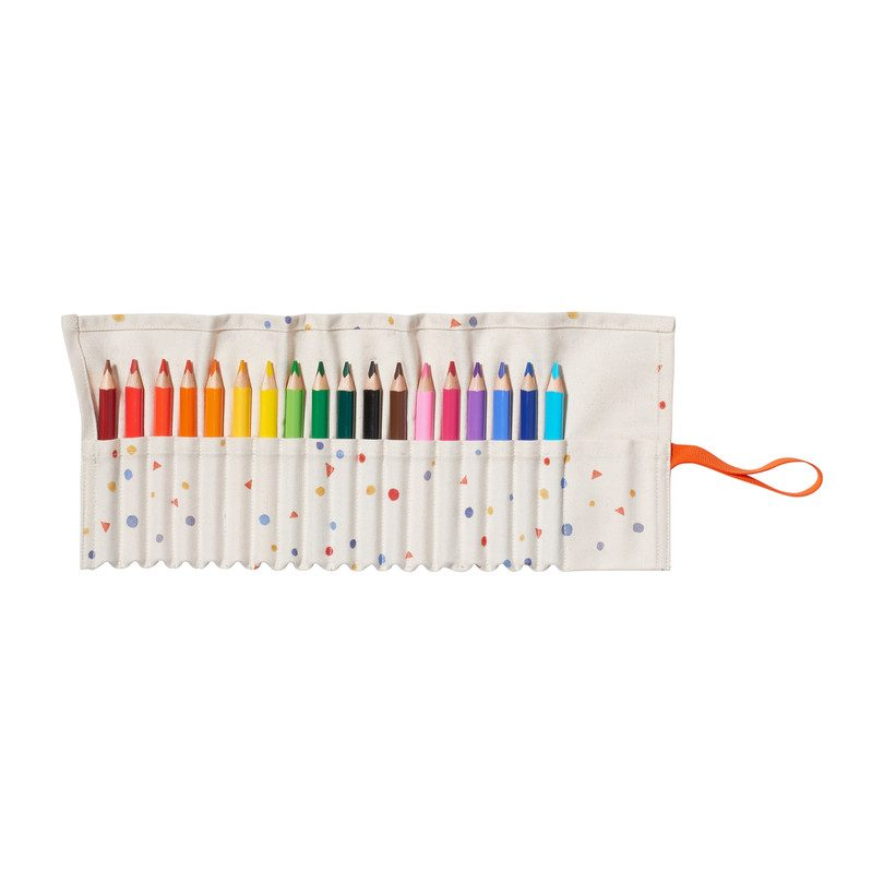 18 Color Pencil Case
