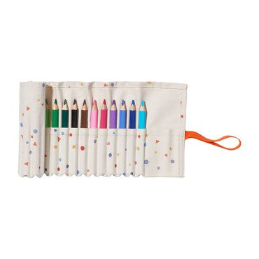 18 Color Pencil Case