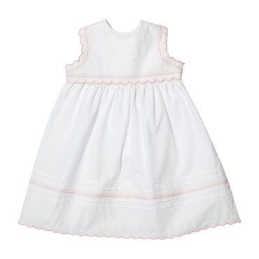 Claire Dress, White
