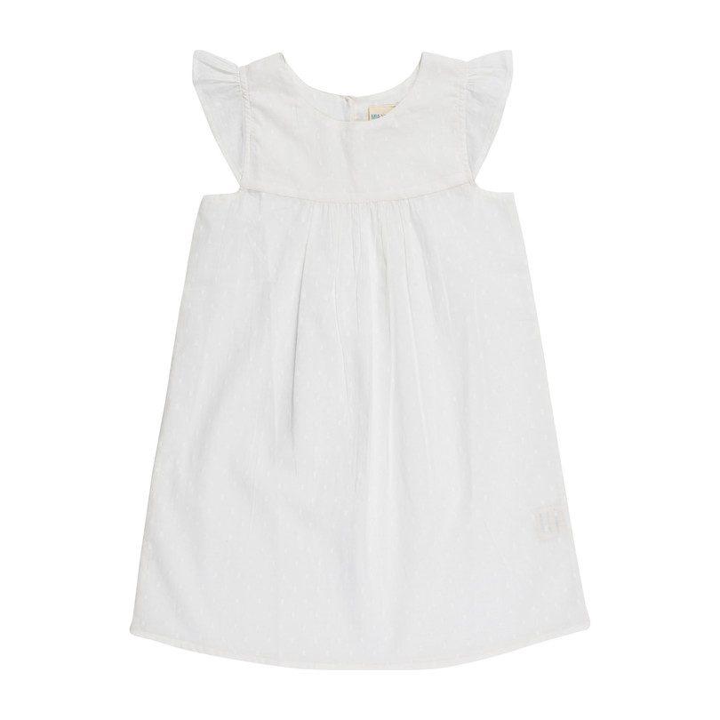 Anya Nightdress, White Swiss Dots