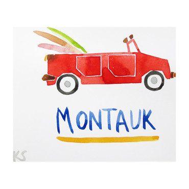 """Montauk Volkswagen, 7"""" x 6"""""""