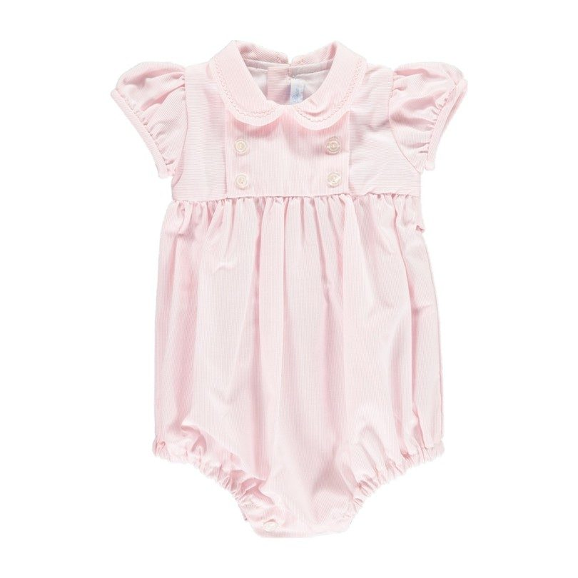 Baby Doll Romper, Light Pink