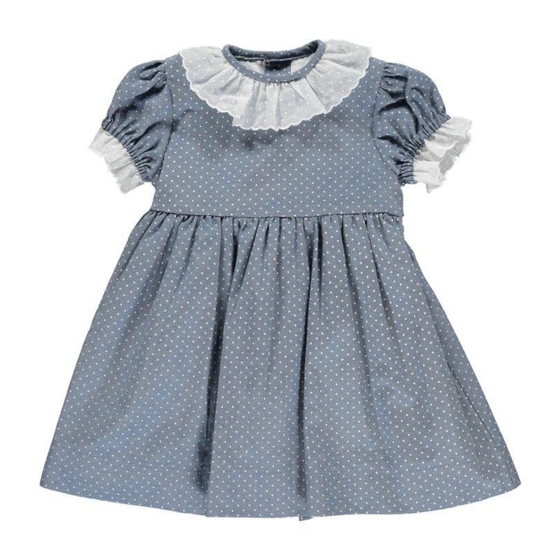 Nina Dress, Blue