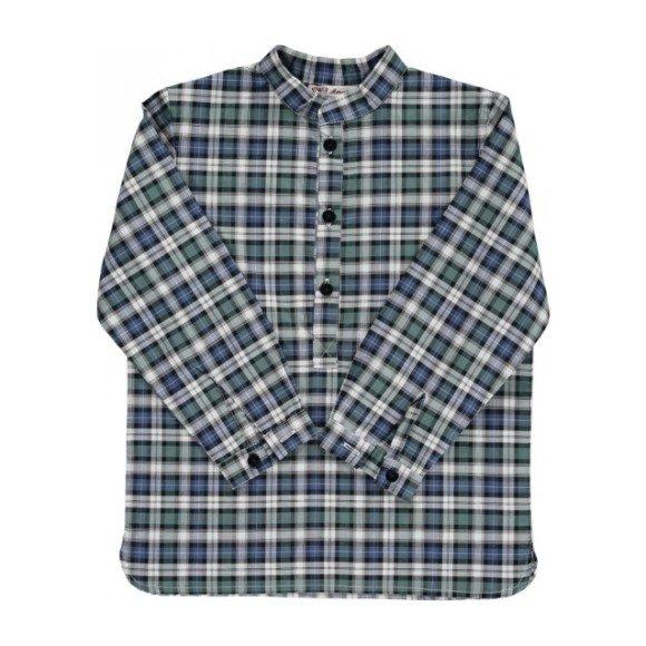 Peperine Shirt, Green Tartan