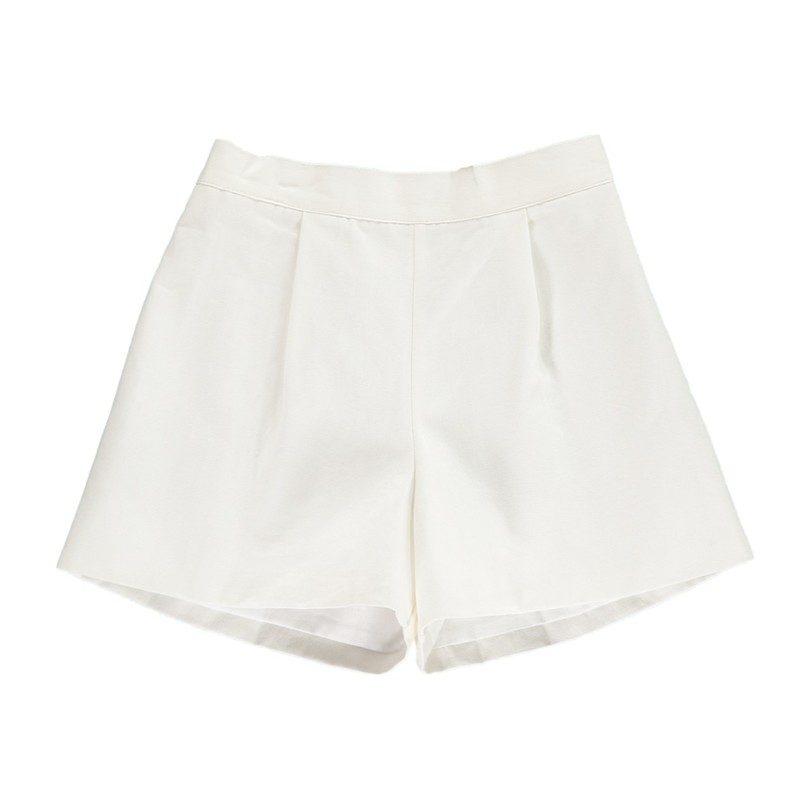 Pickwick Shorts, White