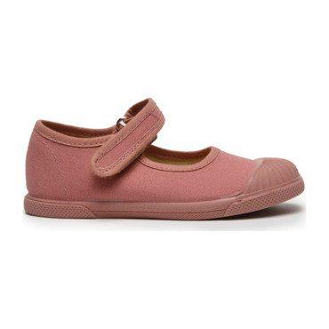 Canvas Mary Jane Captoe Sneakers, Rosewood