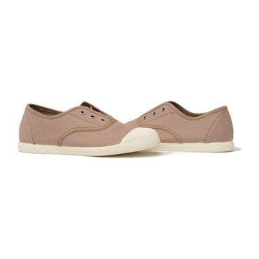 Captoe Slip-On Sneakers, Tan