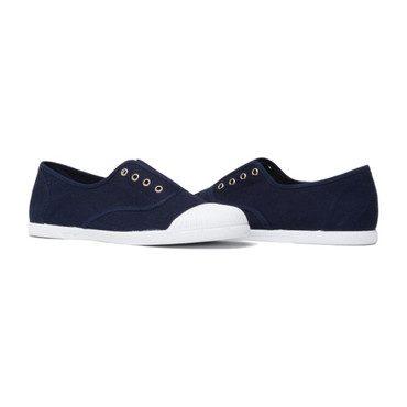 Captoe Slip-On Sneakers, Navy