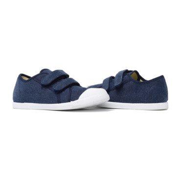 Velcro Sneakers, Navy