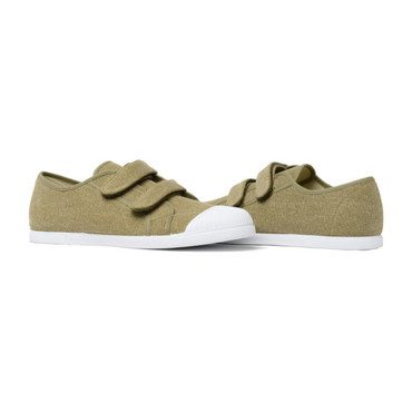 Velcro Sneakers, Military Green