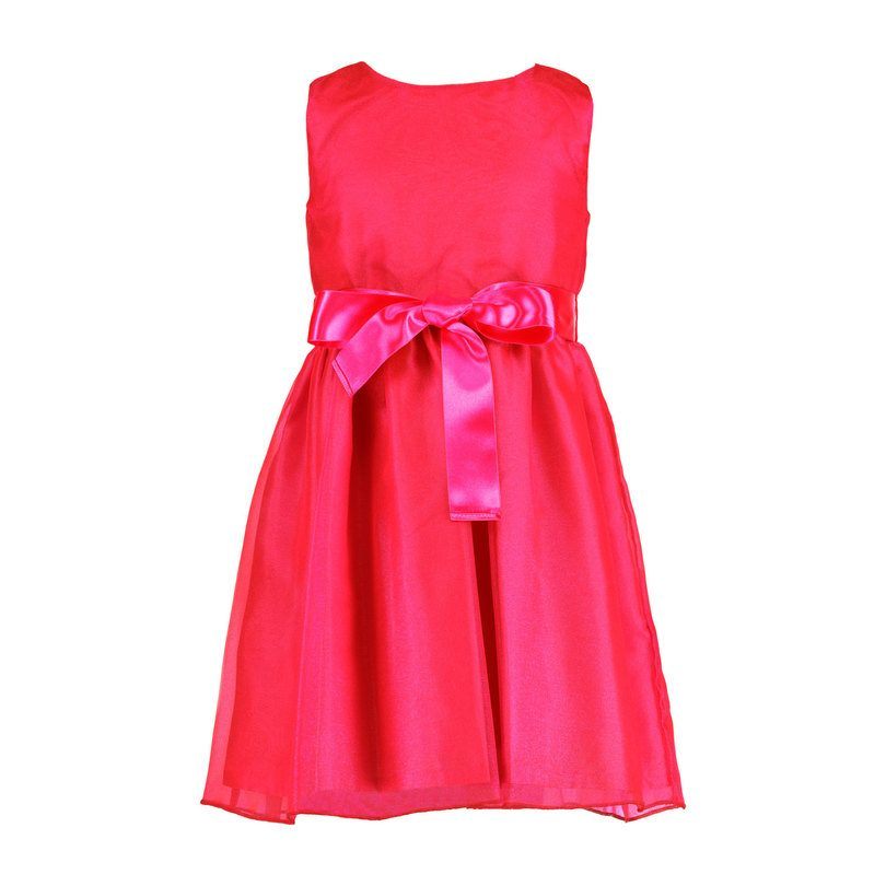 Sparkle Organza Party Dress, Pink