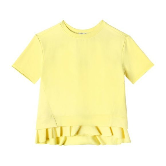 Summer Short Sleeve Sweatshirt, Lemon Drop