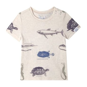 Mini Gabriel T-Shirt, Oatmeal Heather