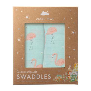 Flamingo Swaddle 2 Pack