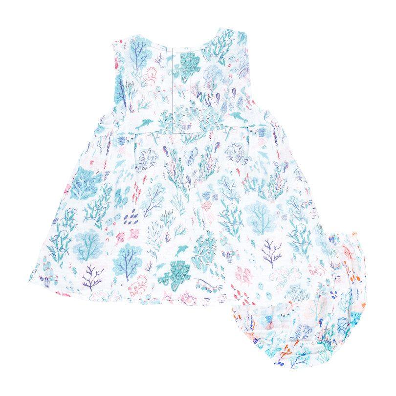 Muslin Kimono Dress & Bloomer, Seaworld
