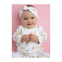 Muslin Wrap Coverall, Leopard