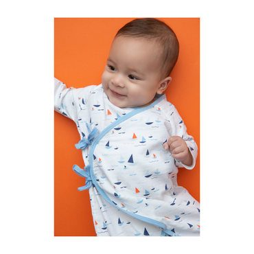 Muslin Wrap Coverall, Sail Boats
