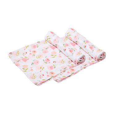 Pretty in Pink Swaddle 2 Pack
