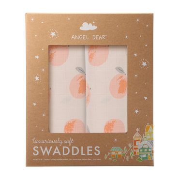 Peachy Swaddle 2 Pack