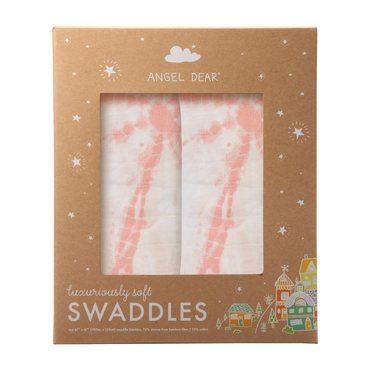 Pink Shiblori Sand Dollars Swaddle 2 Pack