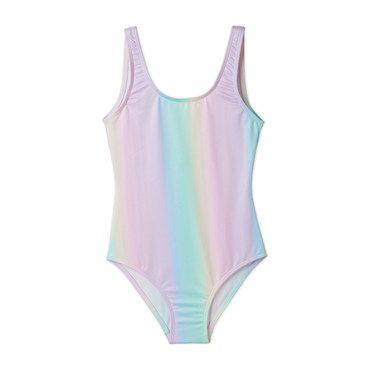 Pastel Rainbow Swimsuit